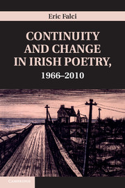 Continuity and Change in Irish Poetry, 1966-2010